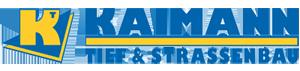 Kaimann Tiefbau GmbH & Co. KG Logo
